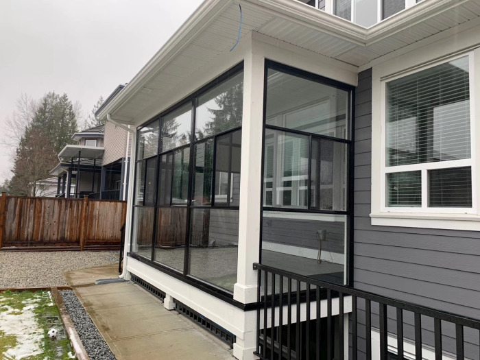 sunroom installations in Vancouver, BC